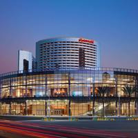 San Diego Marriott Marquis & Marina Hotel Front - Evening/Night