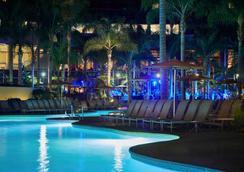 聖地亞哥萬豪侯爵與濱海酒店 - 聖地亞哥 - 游泳池