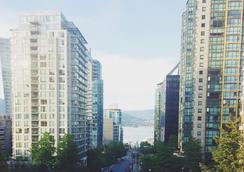 綠薔薇酒店 - 溫哥華 - 室外景