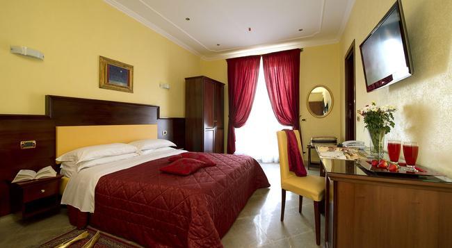 Hotel Esposizione Roma - 羅馬 - 臥室