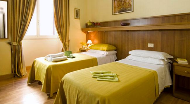 Hotel Altavilla - 羅馬 - 臥室