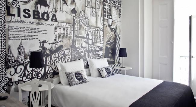 The Art Inn Lisbon - 里斯本 - 臥室