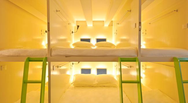Box Capsule Hostel - 新加坡 - 臥室