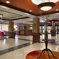Wyndham Garden Hotel Newark Airport Lobby