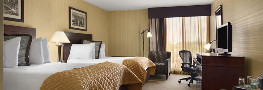 Wyndham Garden Hotel Newark Airport - 紐瓦克 - 臥室