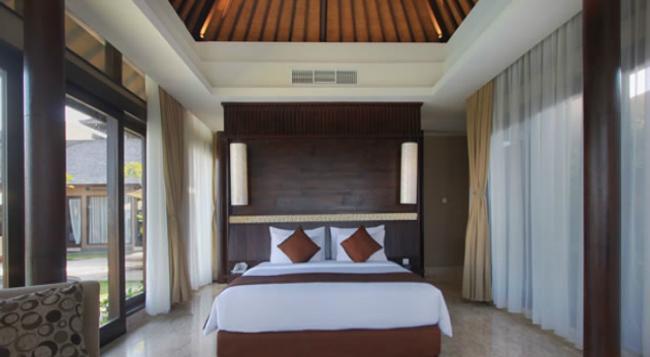 Ulu Segara Luxury Suites & Villas - 努沙杜瓦 - 臥室