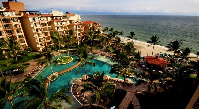 Villa Del Palmar Flamingos Beach Resort and Spa - Nuevo Vallarta - 建築