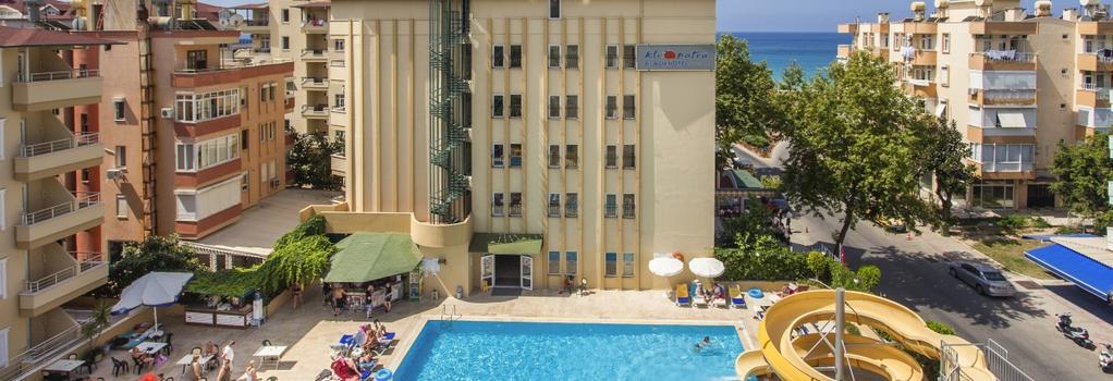 Kleopatra Beach Hotel - 阿拉尼亞 - 建築