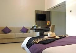 博里瓦奇酒店 - 努美阿 - 臥室