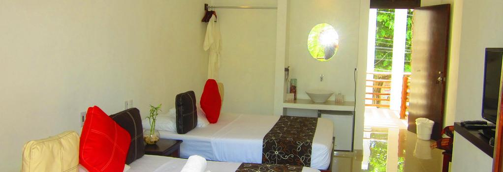 Hotel Latino - 圖盧姆 - 臥室