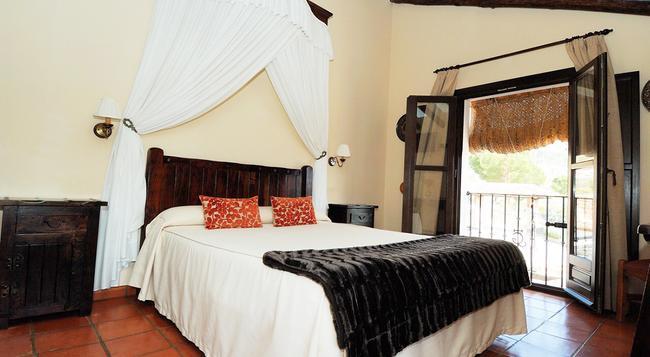 Hotel Hacienda Puerto de las Muelas - 隆達 - 臥室