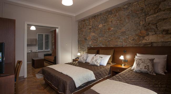 Ambrosia Hotel Suites & Aparts - 雅典 - 臥室