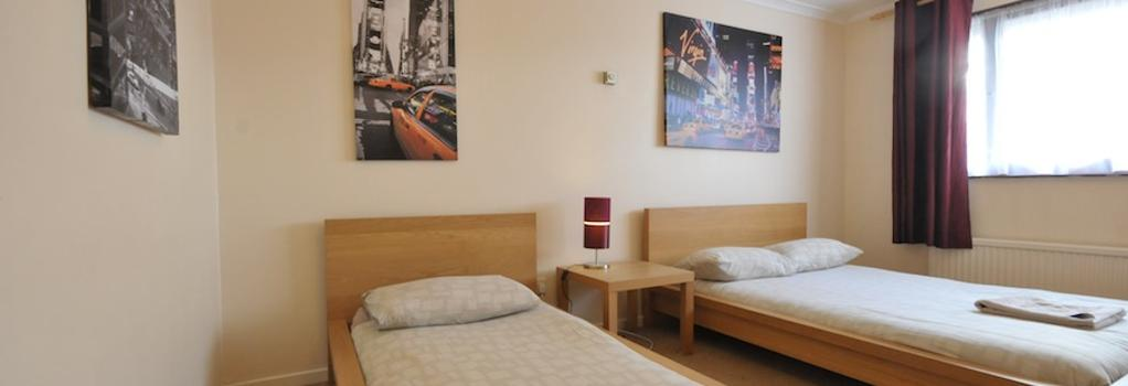 City Centre Rooms - 米爾頓凱恩斯 - 臥室