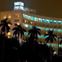 The Park New Delhi Hotel Front - Evening/Night