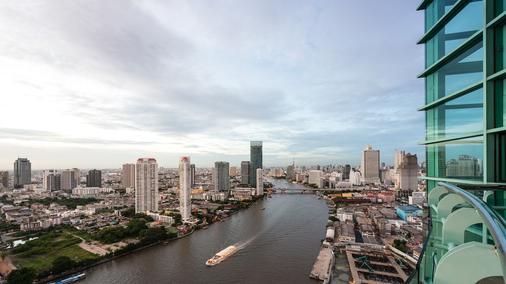 橡樹河畔曼谷酒店 - 曼谷 - 室外景