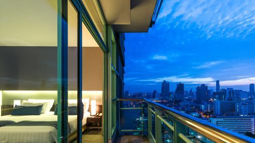 橡樹河畔曼谷酒店 - 曼谷 - 陽台