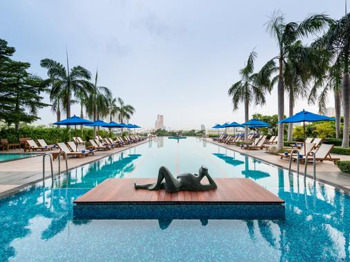 橡樹河畔曼谷酒店 - 曼谷 - 游泳池