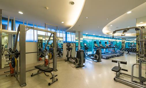 橡樹河畔曼谷酒店 - 曼谷 - 健身房