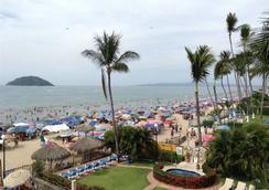卡瓦尼亞斯酒店 - Rincon de Guayabitos - 海灘
