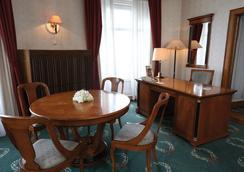 吉爾勒特丹烏比斯酒店 - 布達佩斯 - 臥室