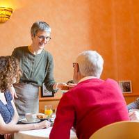 Hotel Les Alizes Breakfast Area