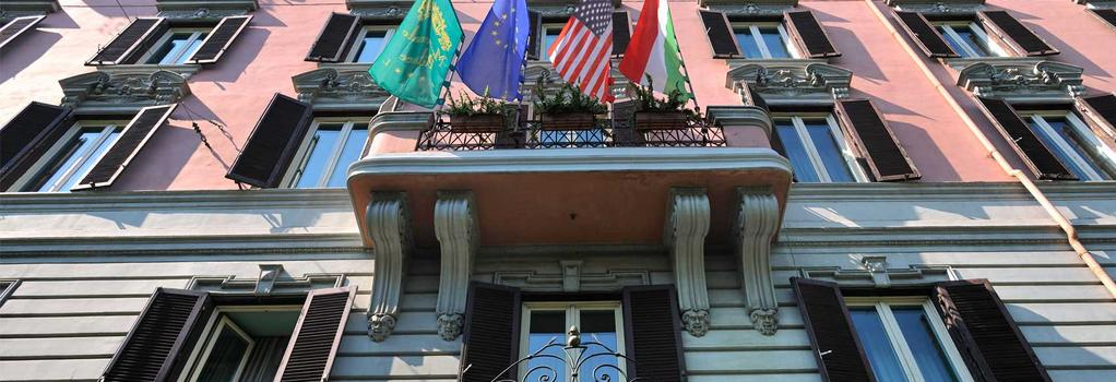 Mecenate Palace Hotel - 羅馬 - 建築