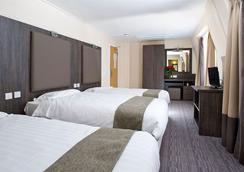 百合酒店 - 倫敦 - 臥室