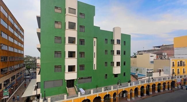 Hotel Olmeca Plaza - 比亞埃爾莫薩 - 建築