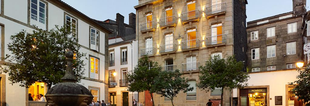 Hotel Montes - 聖地亞哥-德孔波斯特拉 - 建築