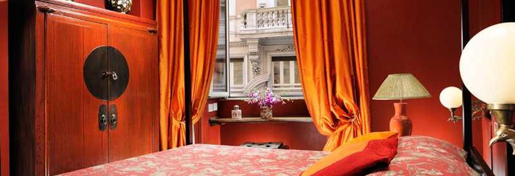Casa Heberart Guest House Capo Le Case - 羅馬 - 臥室