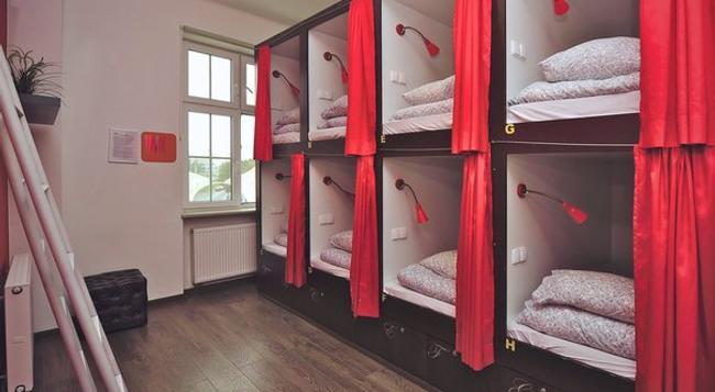 3City Hostel - Gdańsk - 臥室