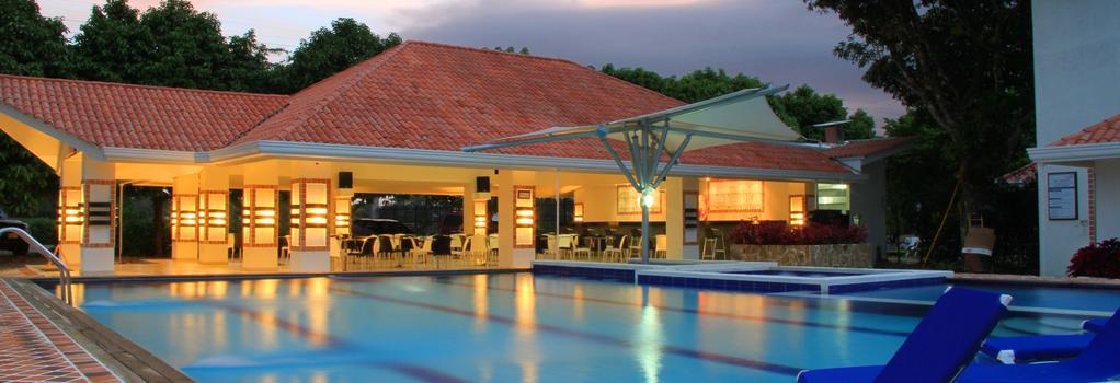 Hotel Campestre Duranta - Villavicencio - 室外景