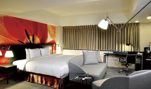 台北凱撒大飯店 - 台北 - 臥室