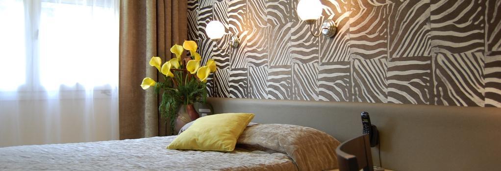 Hotel Du Midi - Saint-Etienne - 臥室