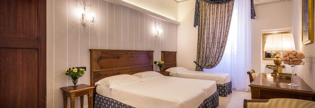 Hotel Veneto - 佛羅倫斯 - 臥室