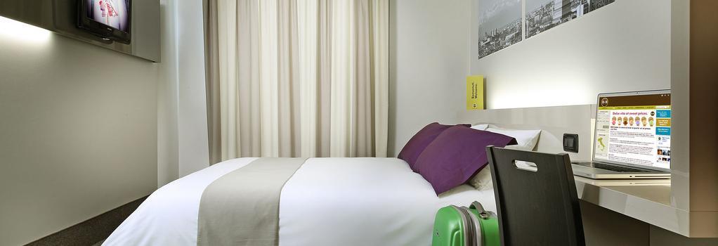 B&B Hotel Torino - 都靈 - 臥室