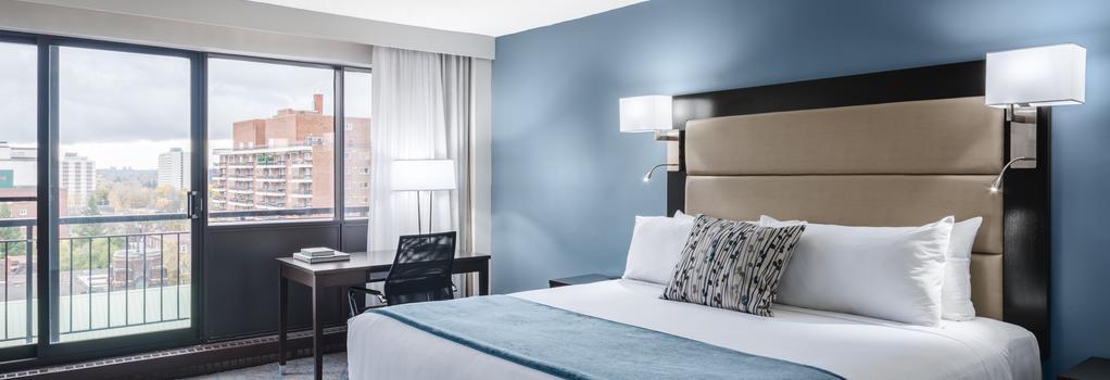 Ottawa Embassy Hotel & Suites - Ottawa - 臥室