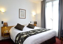 英格蘭酒店 - 格勒諾布爾 - 臥室