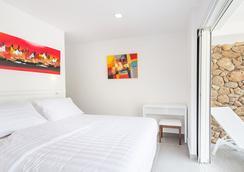 莫雷阿島日落海灘公寓式酒店 - Moorea - 臥室