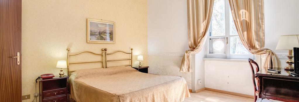D Este Hotel - 羅馬 - 臥室