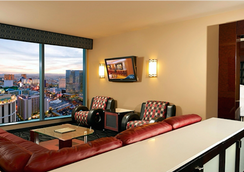 Suites at Elara Las Vegas Strip (No Resort Fees) - 拉斯維加斯 - 客廳