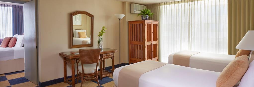 Ewa Hotel Waikiki - 檀香山 - 臥室