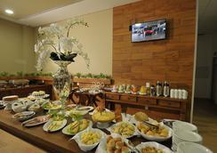 Hotel Maestro Premium Cascavel - 卡斯卡韋爾 - 餐廳