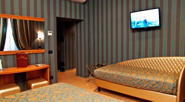 Hotel Lirico - 羅馬 - 臥室