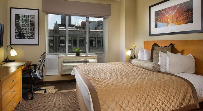 Hotel Henri-By Wyndham - 紐約 - 臥室