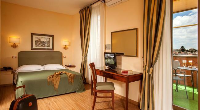 Hotel Colosseum - 羅馬 - 臥室