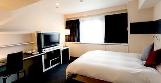 大阪十字酒店 - 大阪 - 臥室