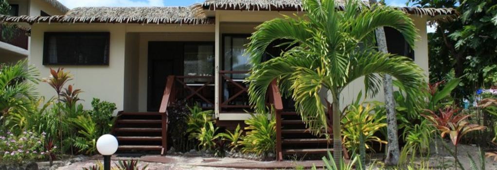 Castaway Resort - Rarotonga - 建築