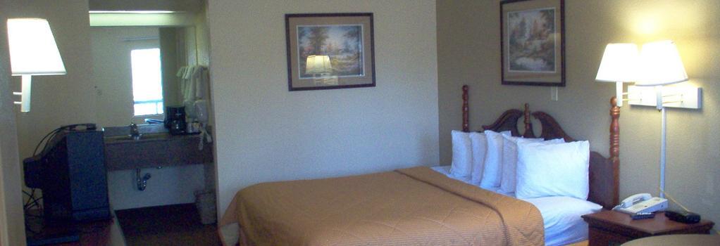 Days Inn & Suites Savannah Midtown - 薩凡納 - 臥室