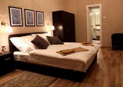 布達佩斯威樂住宿加早餐旅館 - 布達佩斯 - 臥室